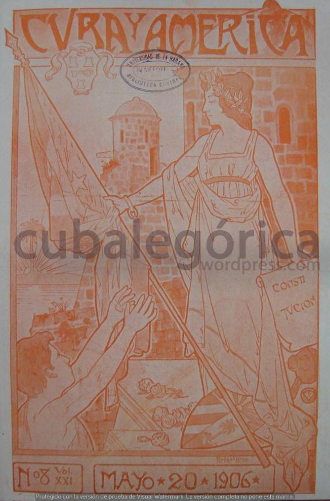 Cuba y América el 20 de mayo de 1906