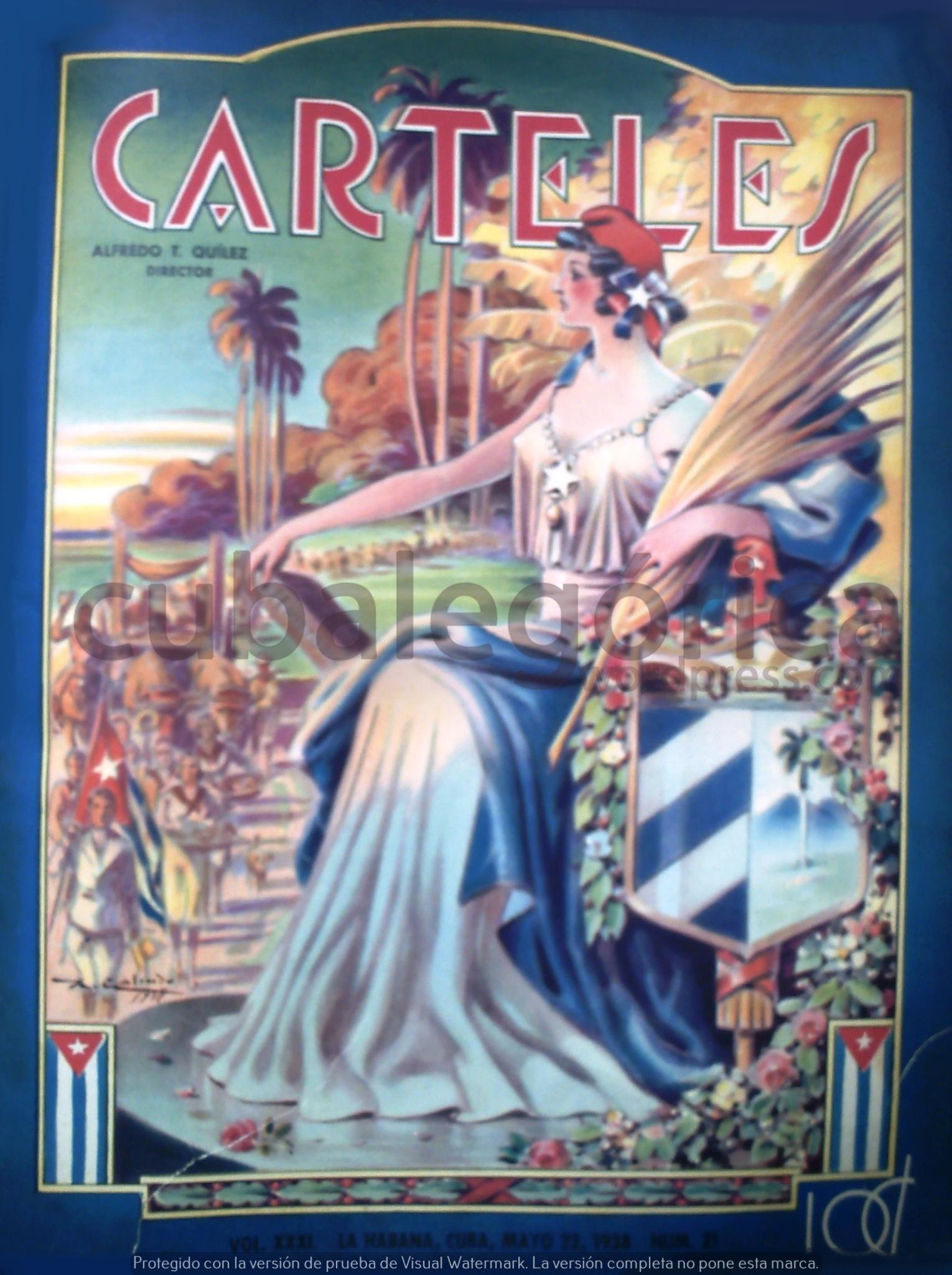Carteles en mayo de 1938
