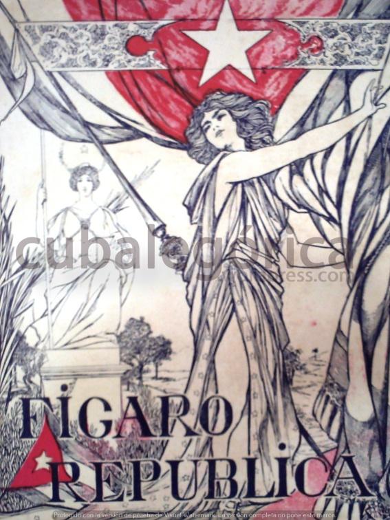 El Fígaro el 20 de mayo de 1902