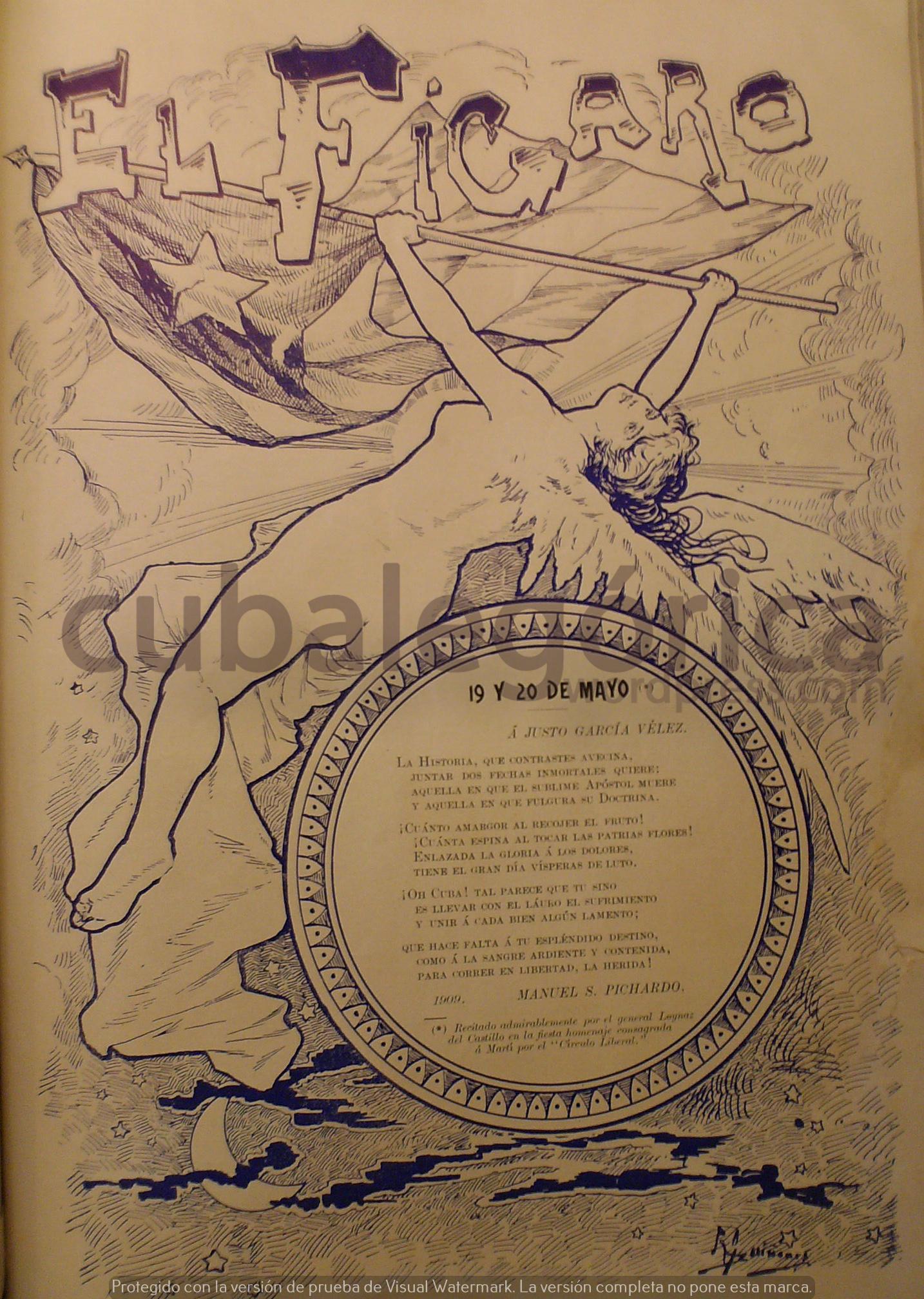 El Fígaro en mayo de 1909