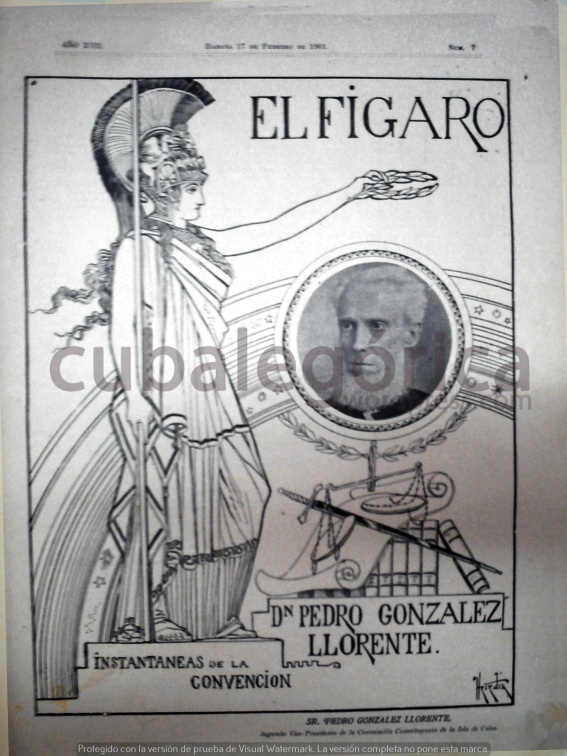 El Fígaro en febrero de 1902